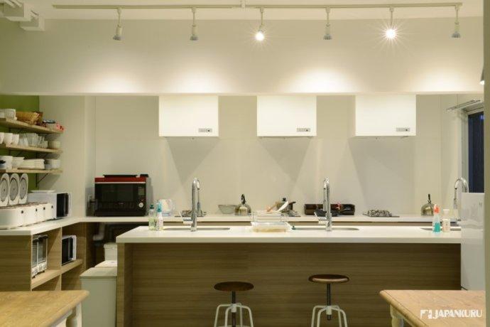 開放式自然派廚房
