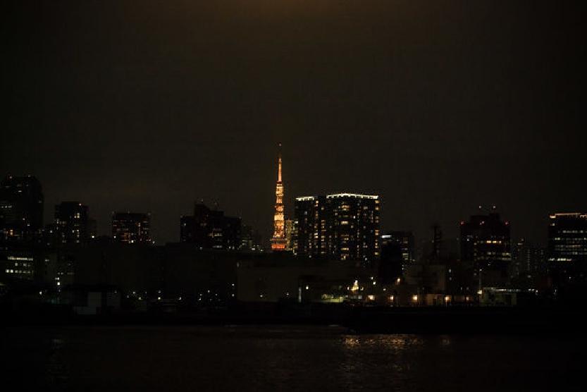 最後用遠方炫麗的東京鐵塔作結