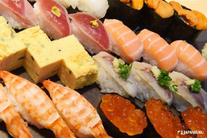 大份量的高品質壽司