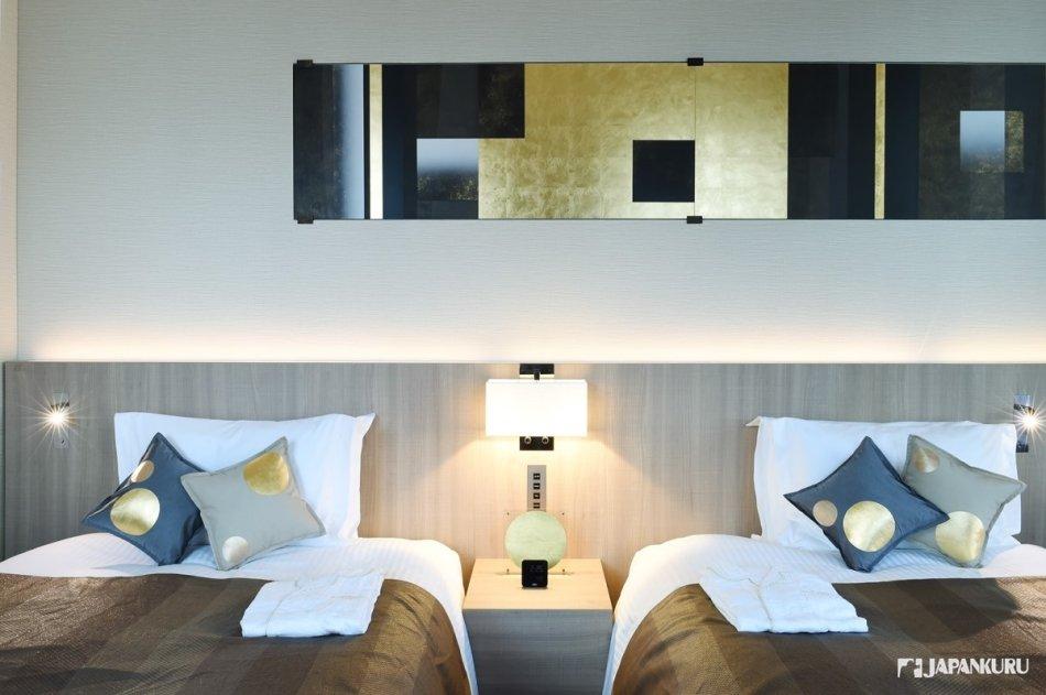 金箔工藝打造黃金概念客房