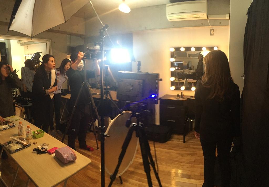 拍摄地点 位于浅草的J-KURU  studio