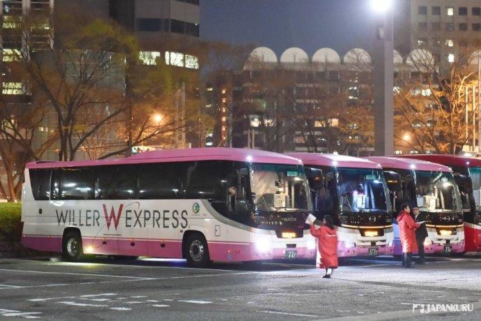 新宿西口WILLER巴士總站