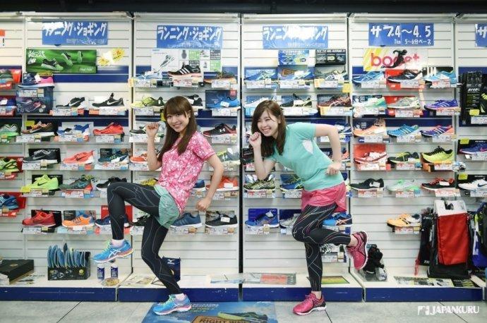 运动鞋卖场
