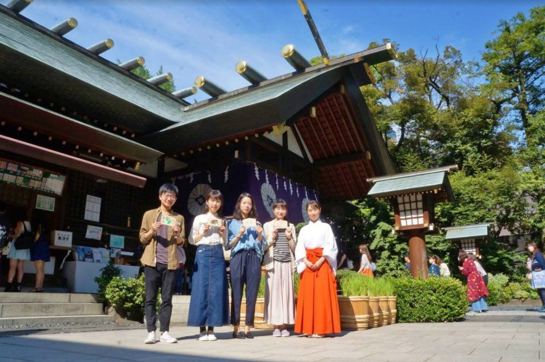 東京大神宮巫女親授參拜教學體驗(點圖片連結至體驗文章!)