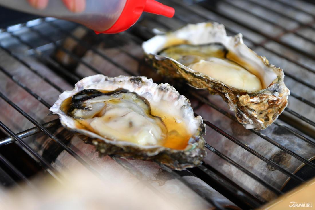 松島的牡蠣