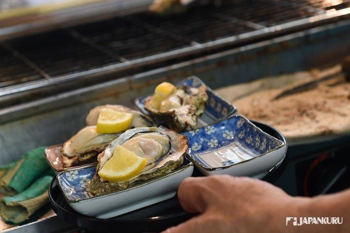 美食一 牡蛎