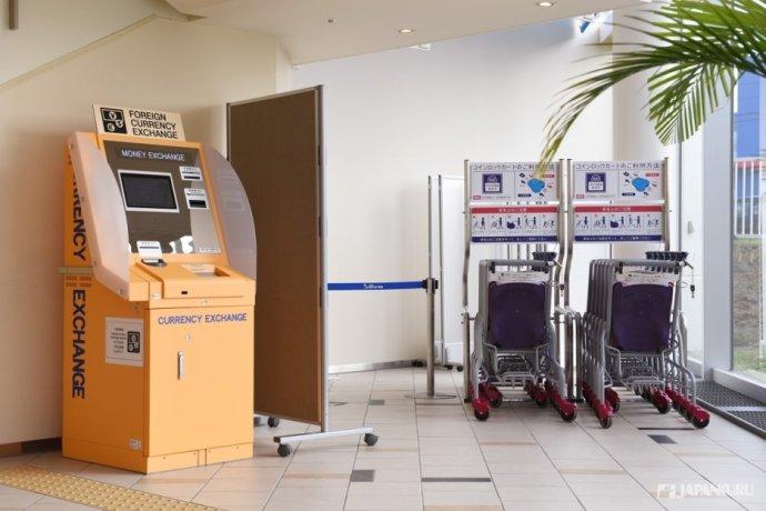 自動換匯機&嬰兒車