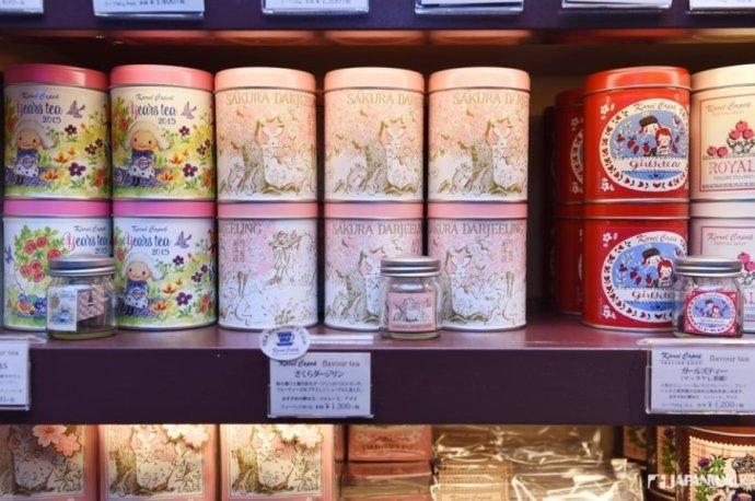 最有人氣的 櫻花大吉嶺茶