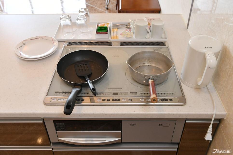 齊全的廚具