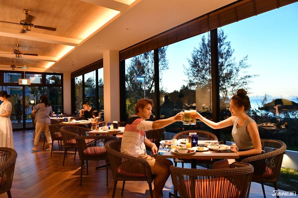 海景餐廳「Aletta」享用晚餐