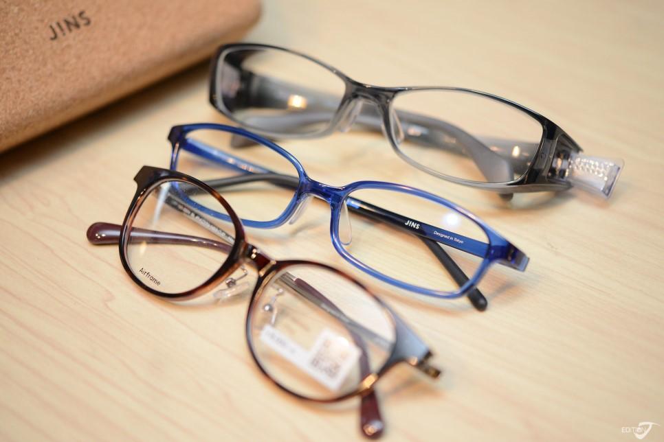 多樣的眼鏡設計
