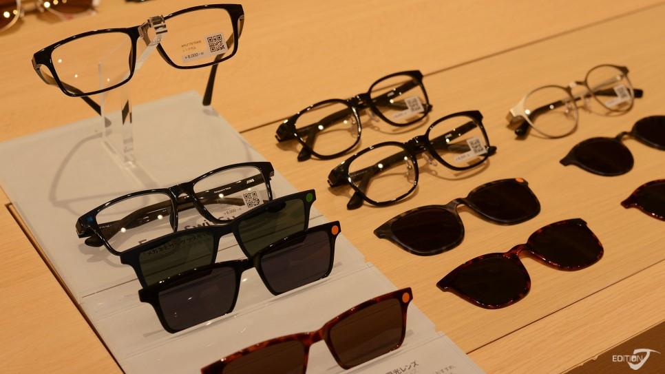 可以變換成太陽眼鏡的特殊眼鏡