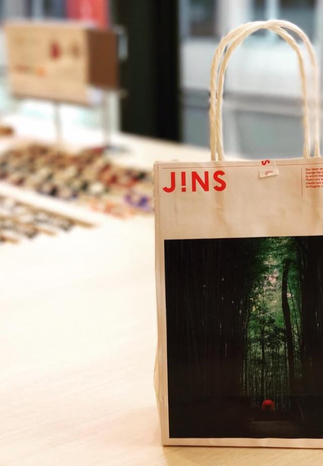 紙袋都是日本知名景點