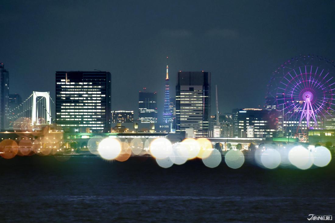 ➤도쿄 빌딩숲 사이에서도 빛나는 도쿄타워