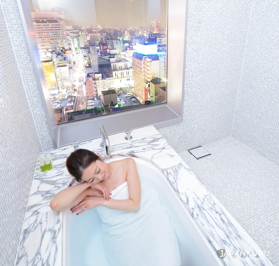 在東京中心休息一下