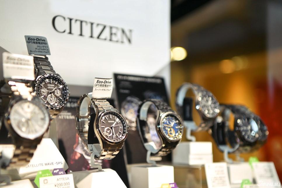 日本三大手表品牌之一的CITIZEN 西铁城