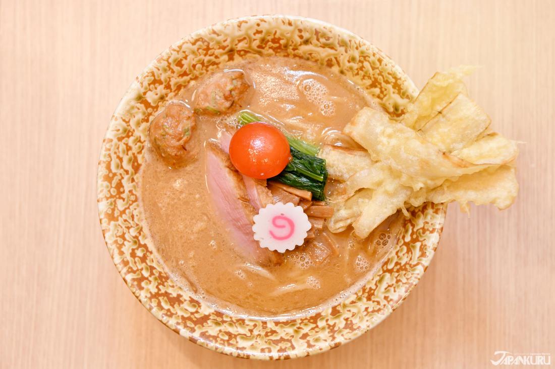 推薦美食 鴨白湯そば極み 1300日圓