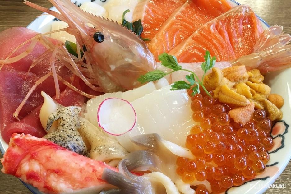 销量第一的海鲜盖饭