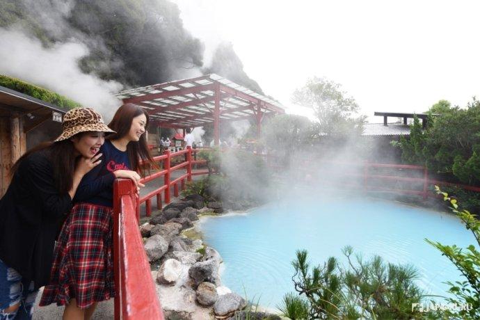 日本温泉数第一的 别府温泉
