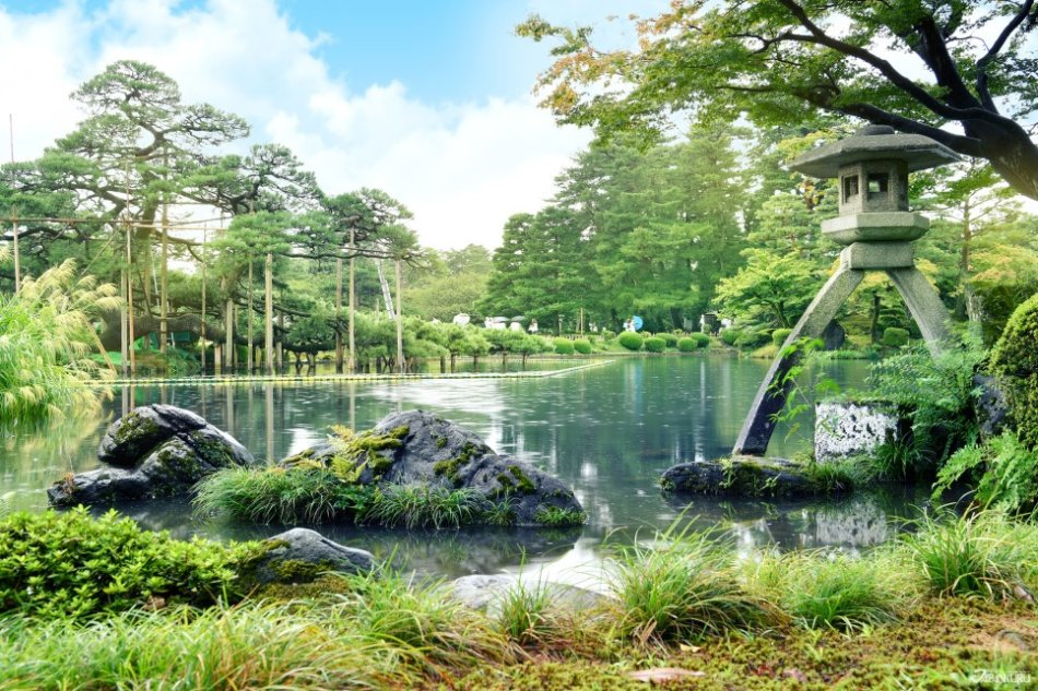 """""""能欣赏到江户时代的四季的庭园"""" 兼六园"""