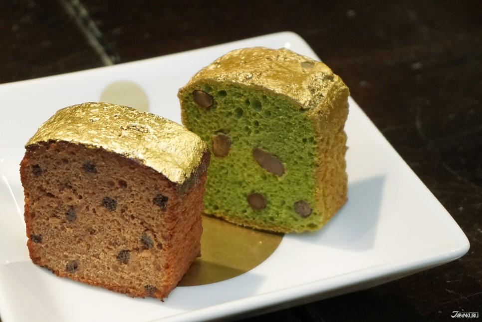 金箔磅蛋糕