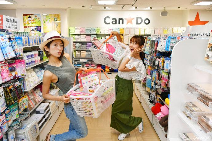 """位於八樓的 日本百元店""""Can★Do"""""""