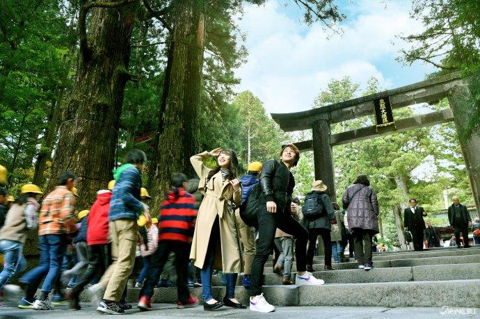 일본의 센고쿠 시대를 통일하고 에도 막부를 세운 도쿠가와 이에야스의 위패가 있는 사당인 도쇼구