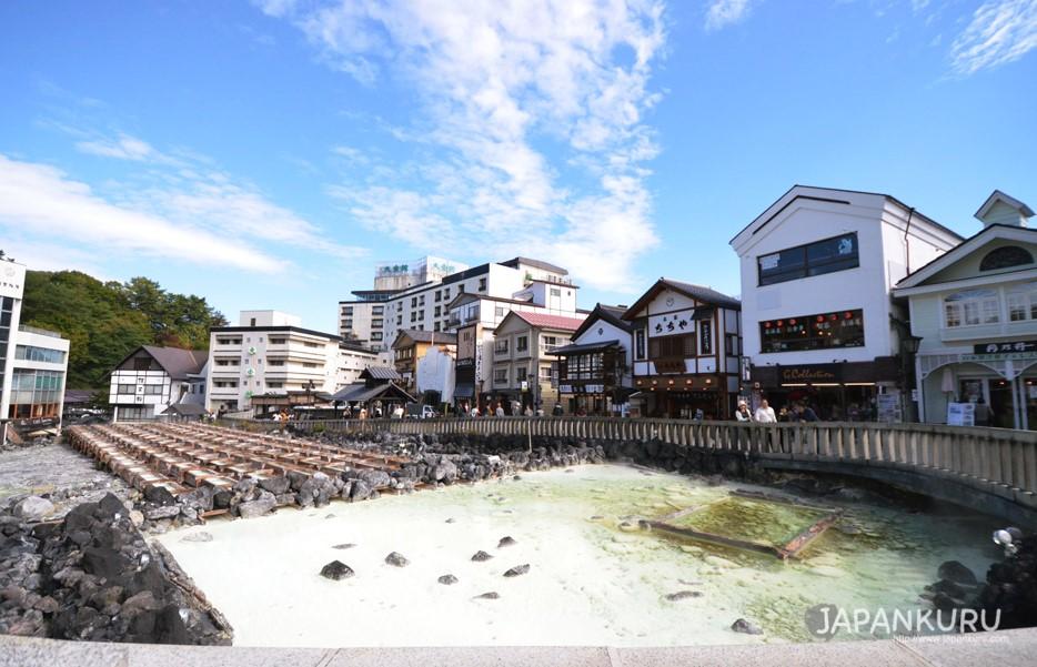 草津溫泉景觀