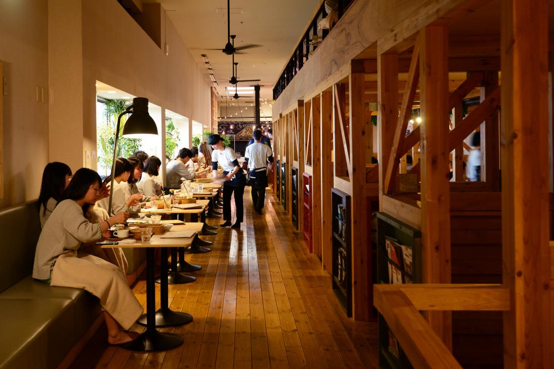 Espace café-restaurant