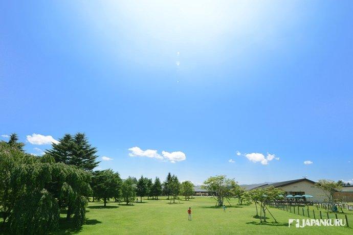 綠蔭裊裊讓人心曠神怡的輕井澤!
