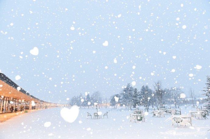 白雪皑皑 浪漫神圣的轻井泽