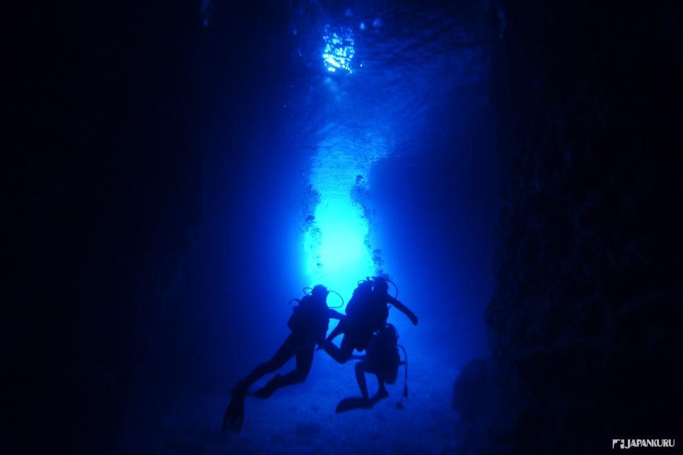 C'est un célèbre spot de plongée d'Okinawa
