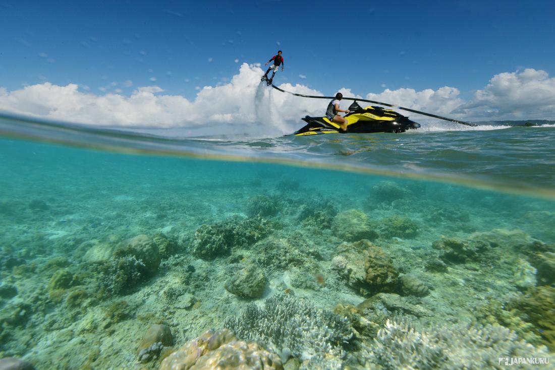 De belles plages vous attendent pour profiter de la baignade et des sports nautiques