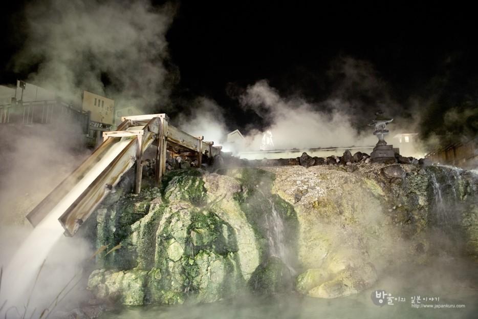 Kusatsu Onsen de nuit