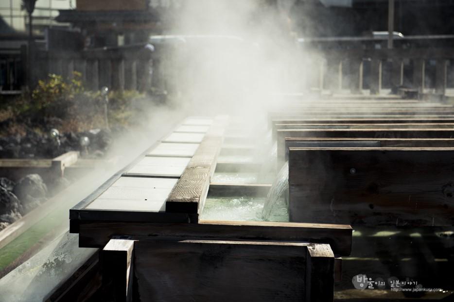 Des onsens brulants