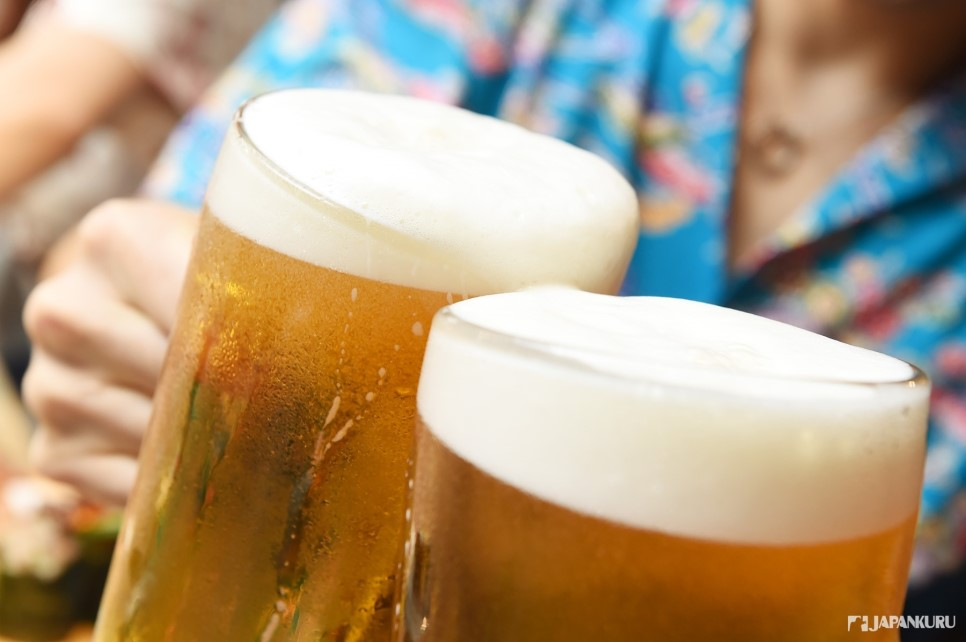 Japan's draft beer -
