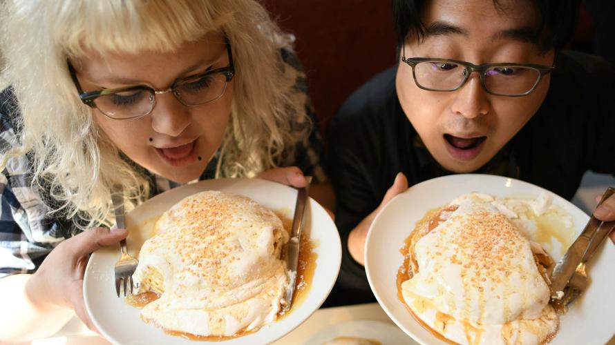 DOTON PLAZA  | Des Pancakes à la Crème de Noix pour les Gourmands