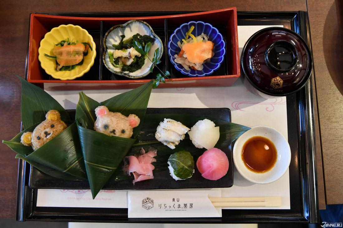 Temarizushi & Omusubi Bento