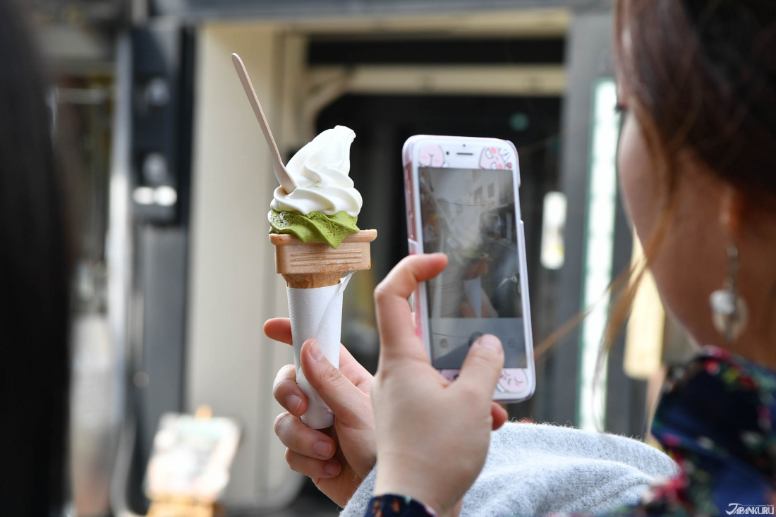 Ice cream that never drops, Kyozuan Kyoto Fushimi Inari