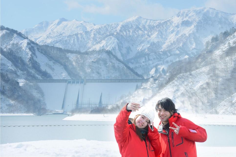 One of Japan's top 100 scenic spots, Tagokura Dam in Fukushima