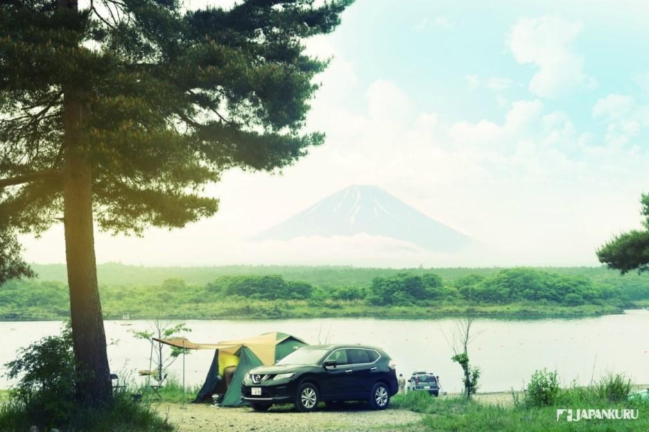 Camping sur les berges