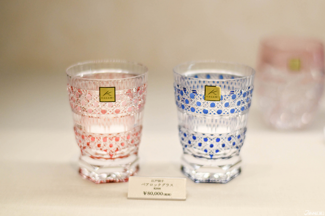 🍶Cold Japanese sake glasses