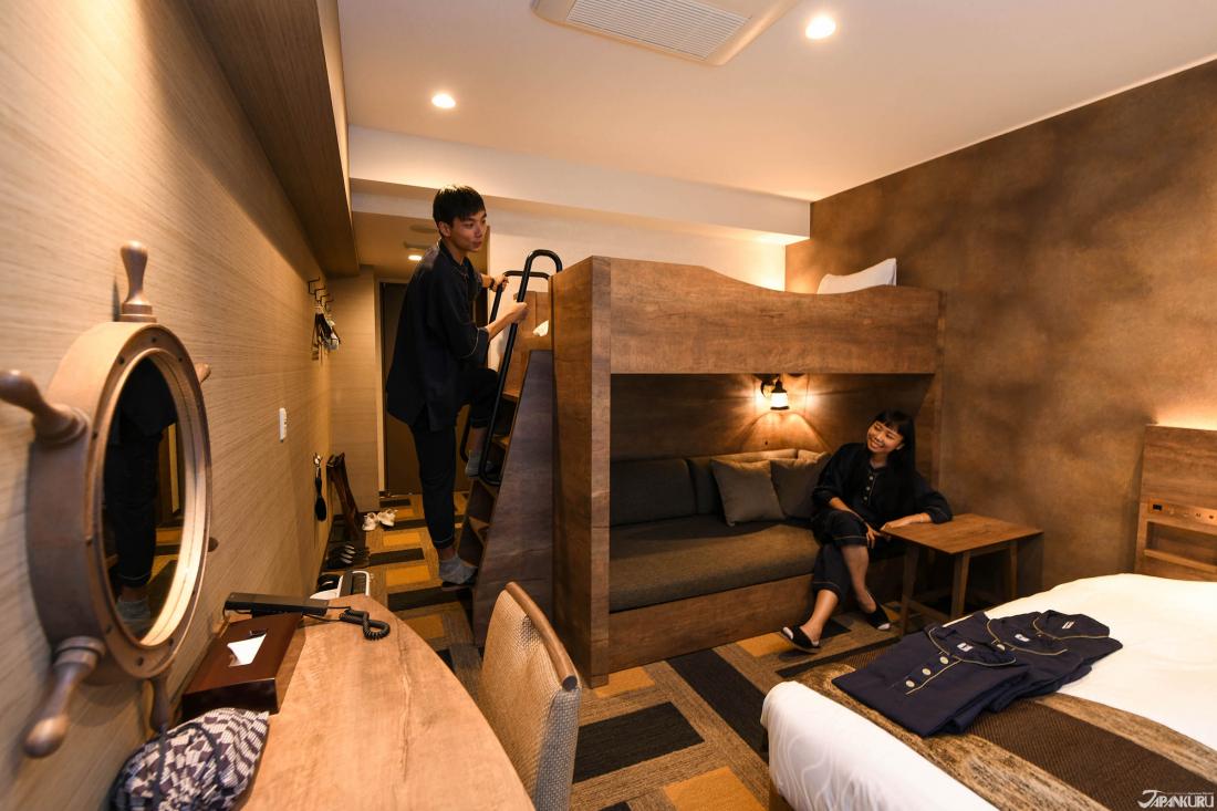 4인 숙박이 가능한 객실