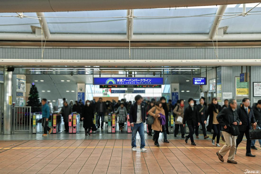 나가레야마(流山) 오오타카노모리(おおたかの森)역