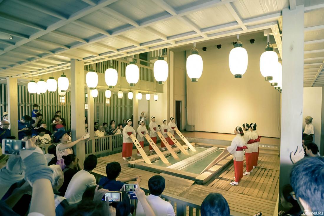 일본 3대 온천! 쿠사츠 온천 (草津温泉)
