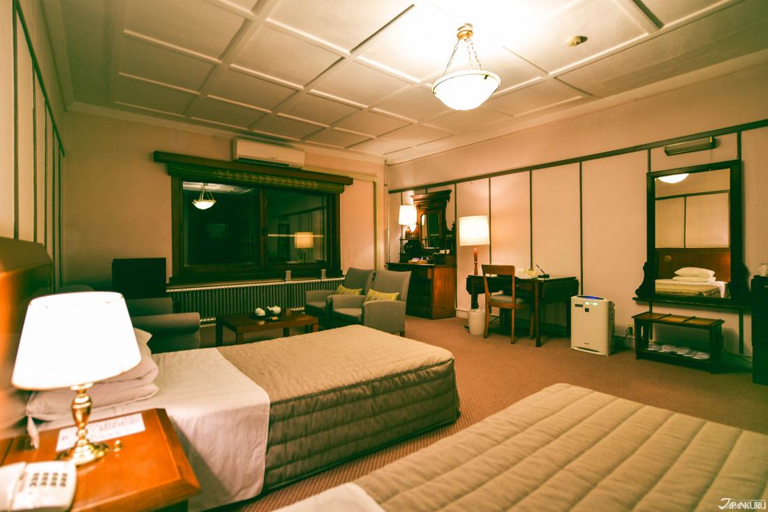 헬렌 켈러, 아인슈타인도 숙박했던 카나야 호텔의 객실