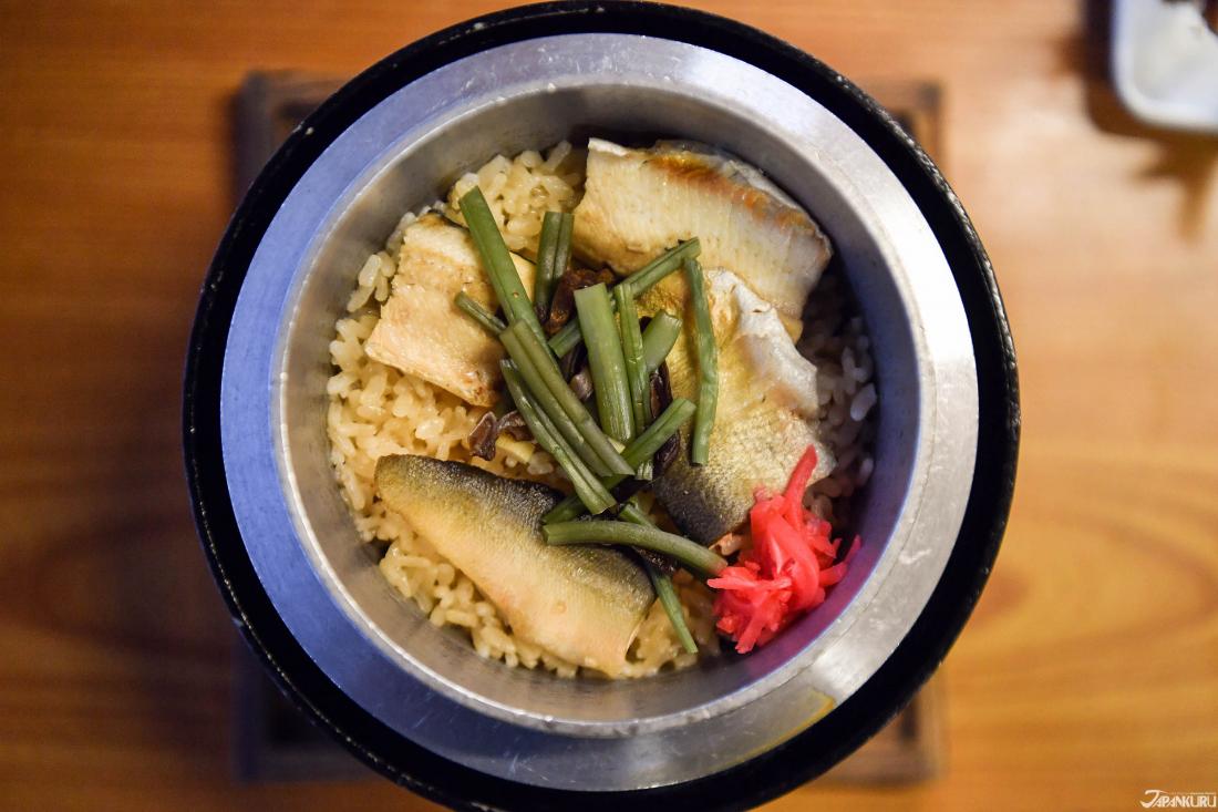 고소하고 향긋한 은어밥