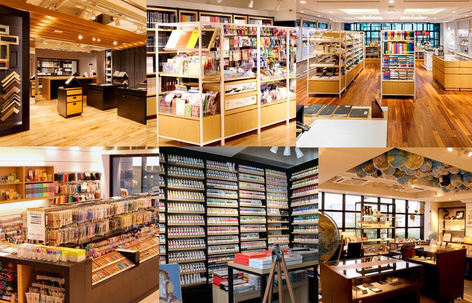 K.Itoya 七個樓層滿足所有基本文具的需求