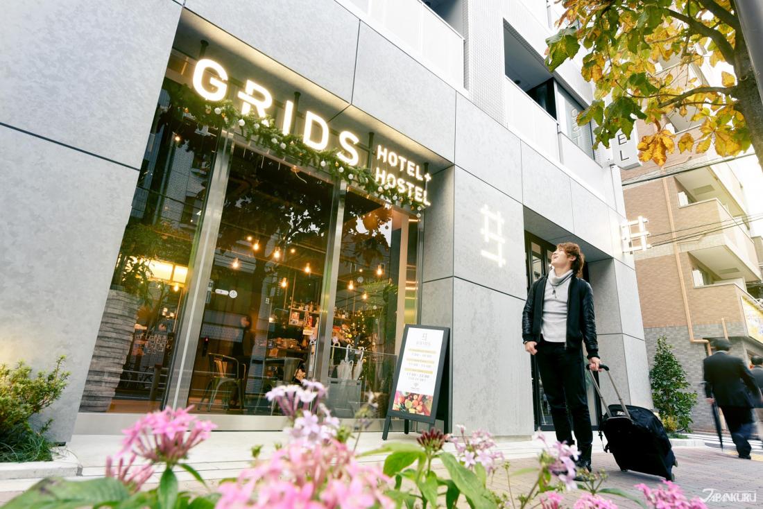 GRIDS TOKYO ASAKUSABASHI HOTEL外觀