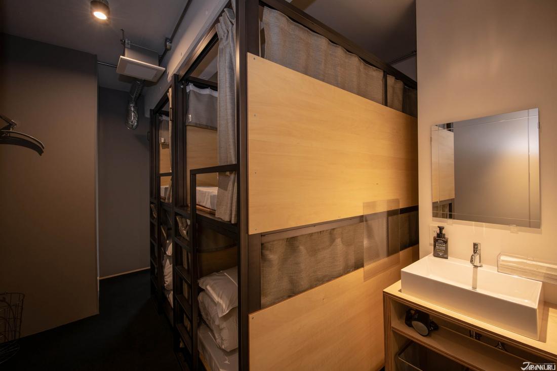Khu vực, giường dành cho 4 người